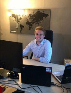 Moritz arbeitet bei Celonis im Prozessmanagement.